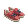 Tip Toey Joey Grao Sneakers Red With Strap Kids Shoes