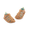 Tip Toey Joey Sandy Sandals Hay | Prewalkers, First Walkers | The Elly Store