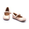 Tip Toey Joey Little Twirl Mary Jane Shoes Metallic Salmon | Elly