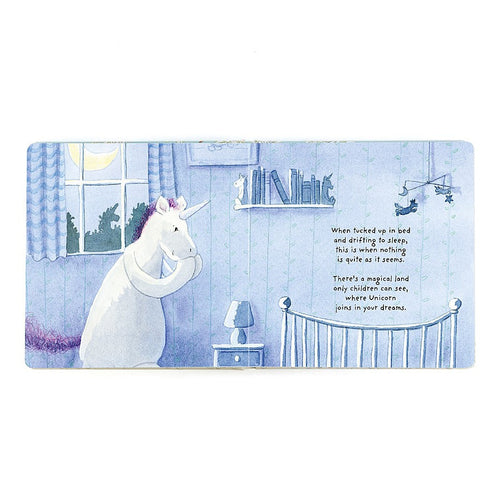 Jellycat 'Magical Unicorn Dreams' Book Preview | Buy Jellycat Books online for early reader at The Elly Store Singapore