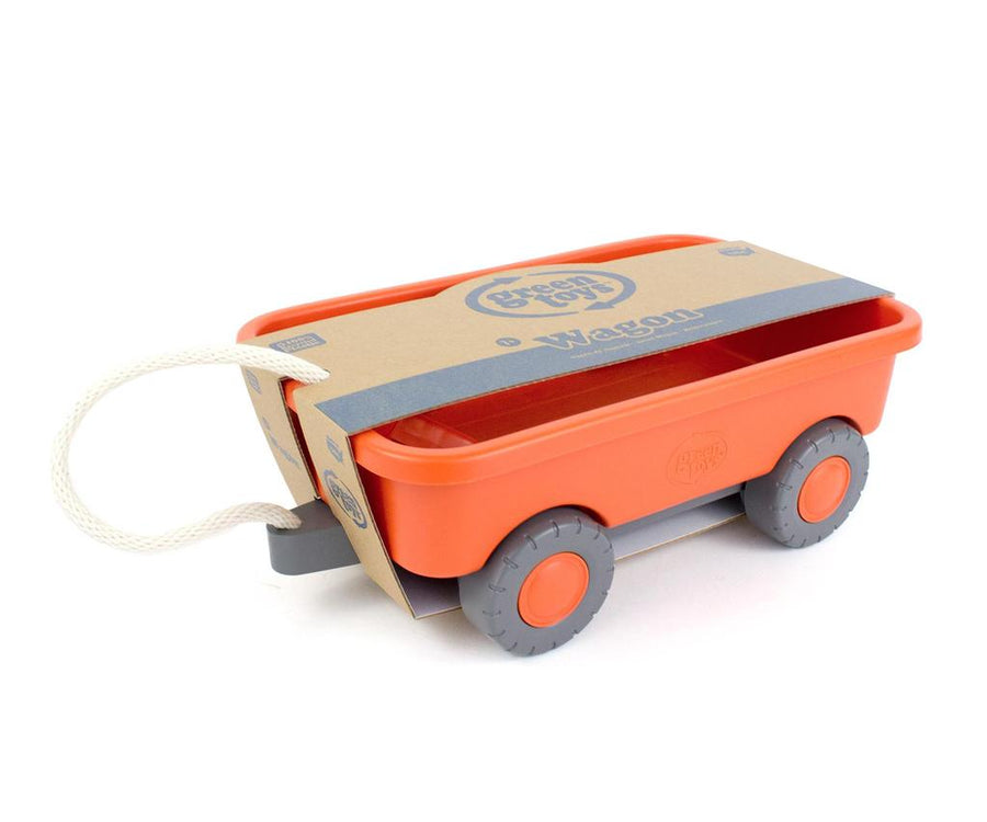 Green Toys™ Orange Wagon | 100% recycled plastic | The Elly Store