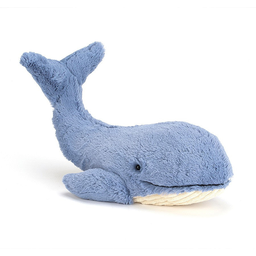 Jellycat Animals Wilbur Whale Plush Toy | Buy Jellycat Kids Baby Soft Toys at The Elly Store Singapore
