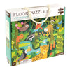 Petit Collage Wild Rainforest Floor Puzzle Kids Toys