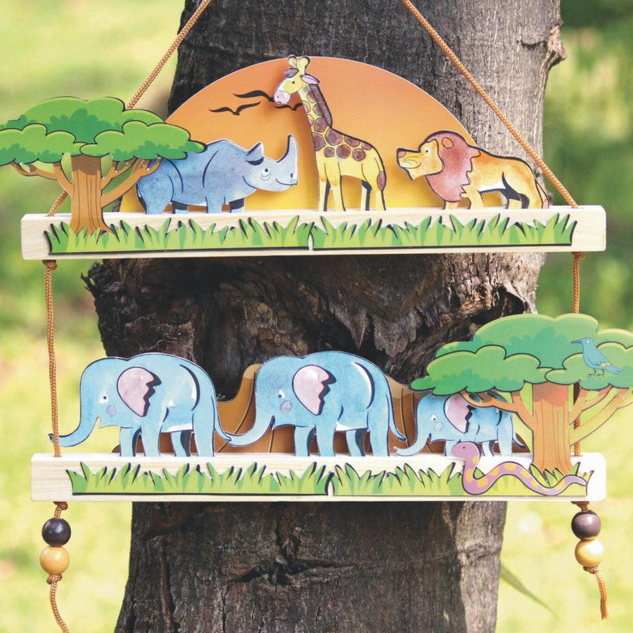 Wildlife Safari Standard Box Gummy Box