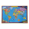 eeBoo World Map 100pc Puzzle Children Educational Toys