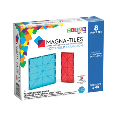 Rectangles 8 Piece Expansion Pack Magna-Tiles
