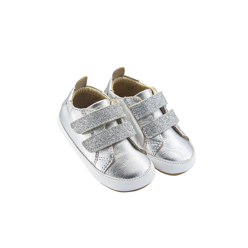 Old Soles Bambini Glam Silver Prewalker