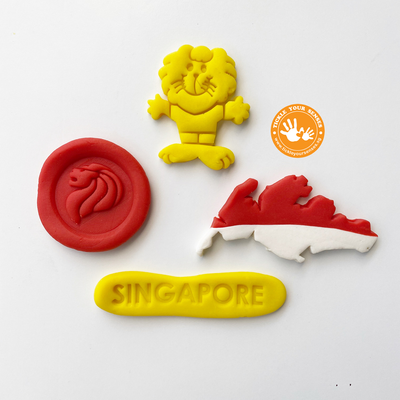 Singapore Heritage Playdough Cutters (II) Tickle Your Senses