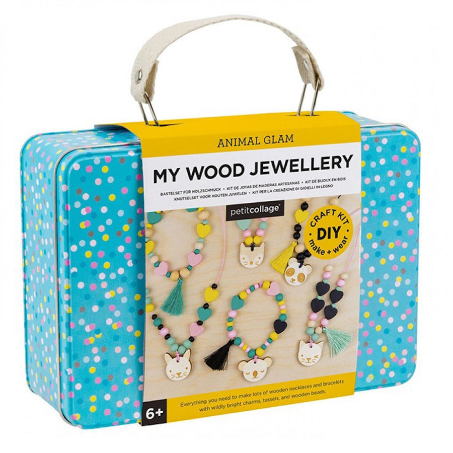 Animal Pals Wooden D.I.Y Jewellery Set