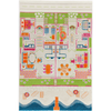 3D Play Rug - Beach Houses (Medium) IVI