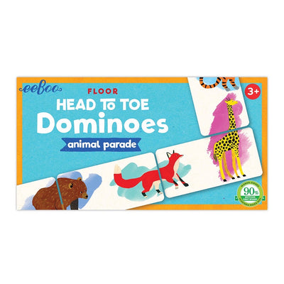 Head to Toe Animal Parade Dominoes eeBoo