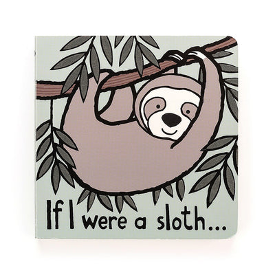 Jellycat If I were a Sloth Book | The Elly Store