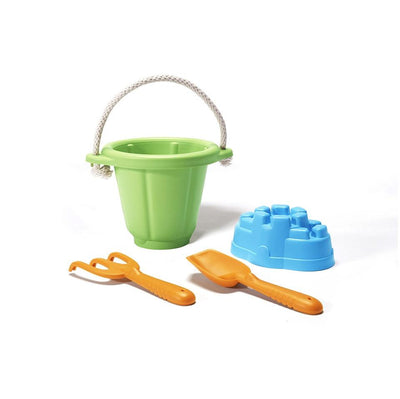 Green Toys Sand Play Set Green Made from 100% Recycled Plastic, The Elly Store