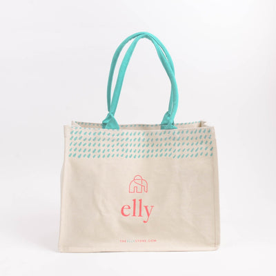 Elly Canvas Bag | A Reusable Shopping bag from The Elly Store