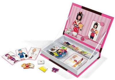 Janod - Magnetic Book Princess Girls Kids Toys Singapore