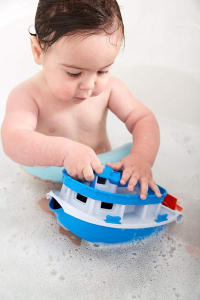 Green Toys Paddle Boat | Made with 100% recycled material