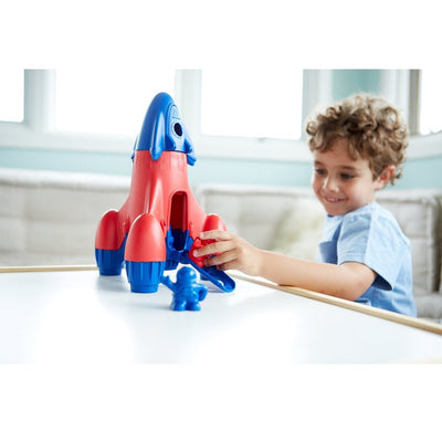 Green Toys  Rocket Blue | Made with 100% recycled material