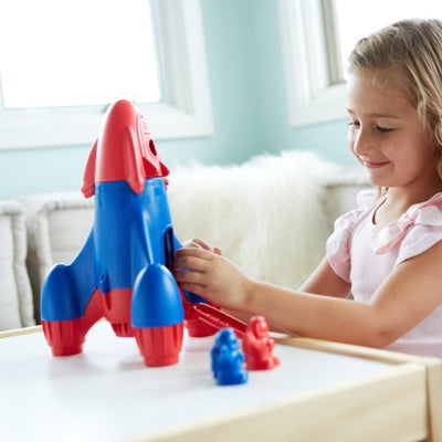 Green Toys Rocket | Made with 100% recycled material