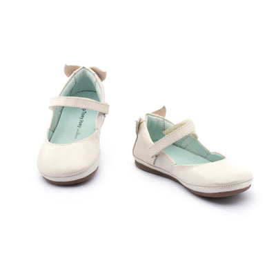 Tip Toey Joey Little Mermaid Antique White Shoes | The Elly Store