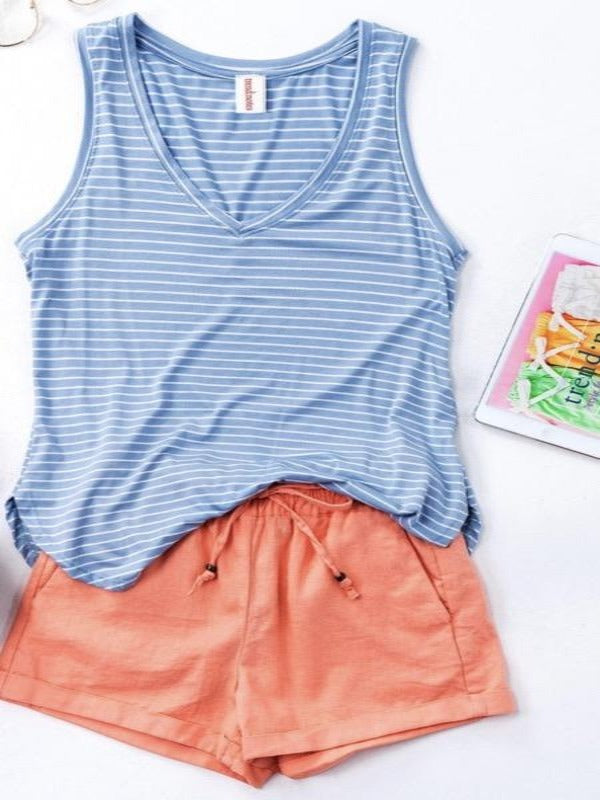 Casual Stripe Tank