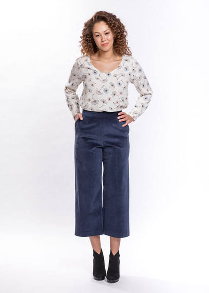 Corduroy Cropped Trouser