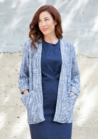 Draped Pocket Blazer