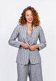Linen Tailored Blazer