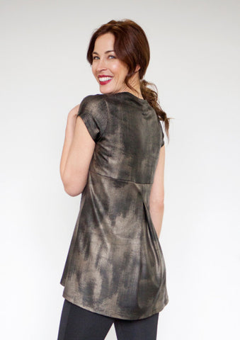 Back-Pleat Tunic