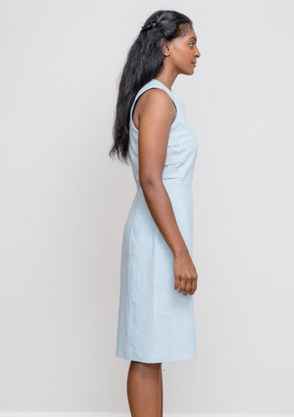 Side Tabs Shift Dress