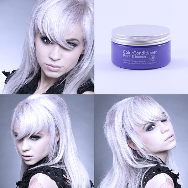 HOW TO - LAVENDER WHITE HAIR