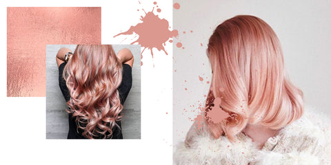 HOW TO - ROSE GOLD HAIR COLOR - Evilhair