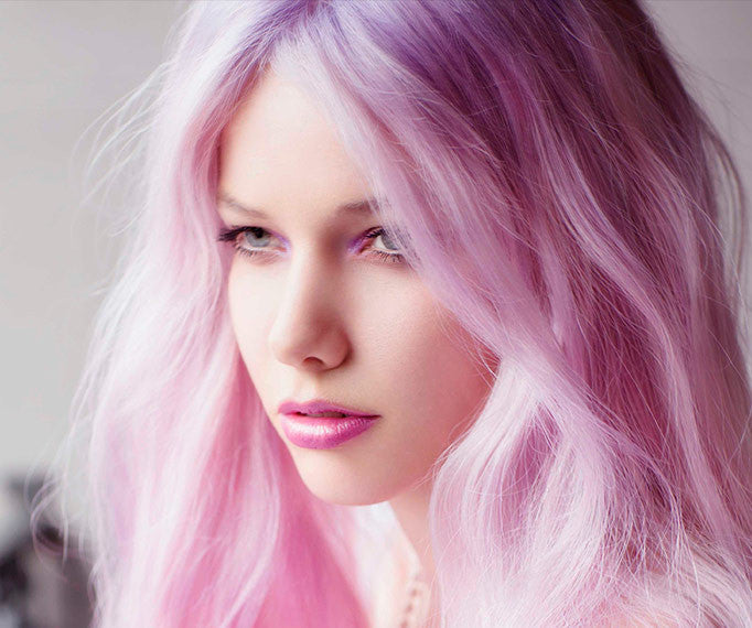Pastel Cotton Candy Pink Color Conditioner