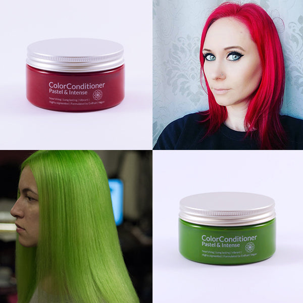Intense Cherry Red + Intense Lush Green Bundle (400 ml)