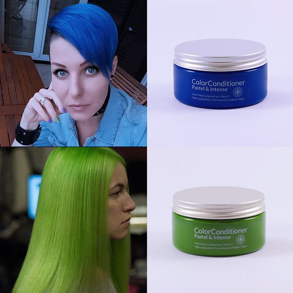 Intense Royal Blue + Intense Lush Green Bundle (400 ml)