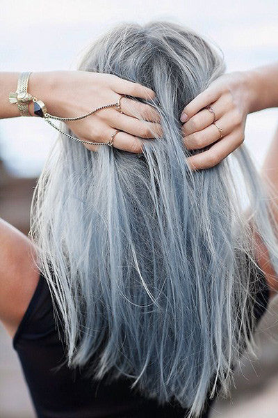 Pastel Silver Blue (200 ml) Hair Color Conditioner - Evilhair