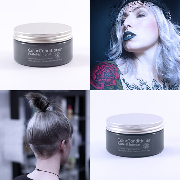 Pastel Silver Gray + Intense Ash Silver Bundle (400 ml)