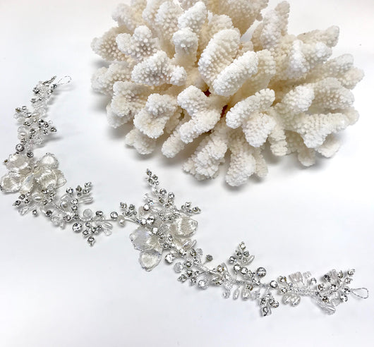 Crystal, Clear Rhinestone Hair