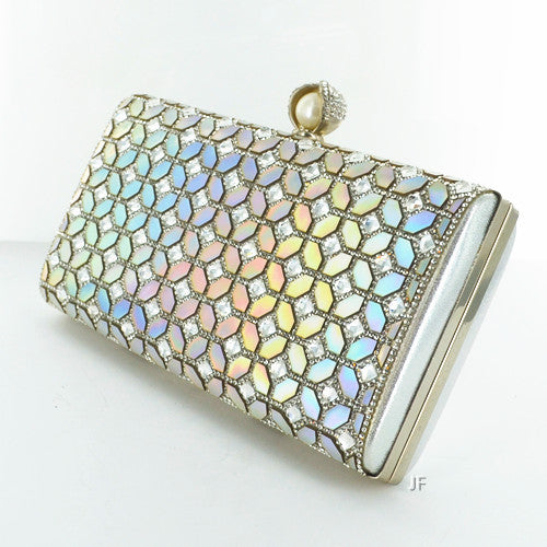 Crystal Metallic Clutch