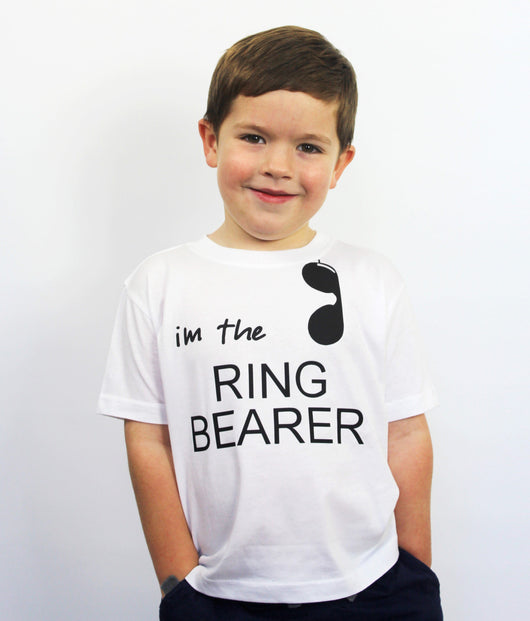 Ring Bearer #NailedIt Shirt