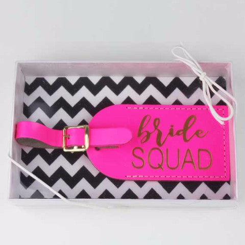 Bride Squad Luggage Tag