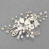 Pearl Flexi-Wire Hair Comb