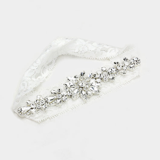 Crystal Lace Garter