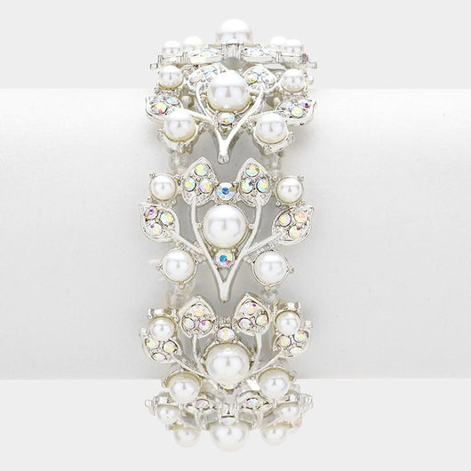 Crystal Vine Stretch Bracelet