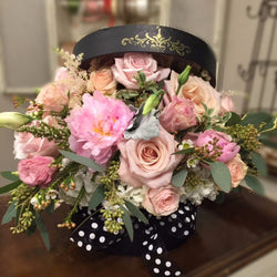 Black Hat Box Arrangement