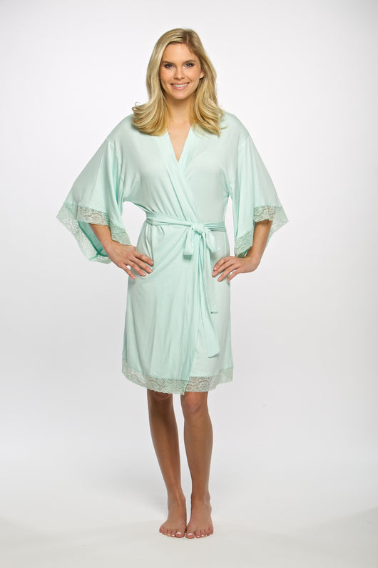 Jersey Knit Lace Robes – MDS Floral