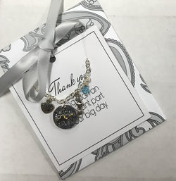 Beach Haven Thank You Necklace