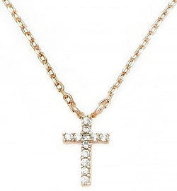 Cross Cubic Zirconia Necklace