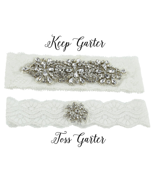 Keep and Toss Garter Set
