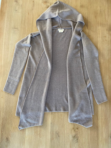Cashmere Sweater Women's Wrap Cardigan with hood