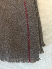 Himalayan Hand Woven Wind River Yak Wool Meditation Shawl